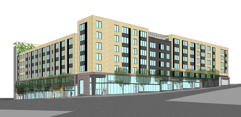 June 2013 rendering of The L.