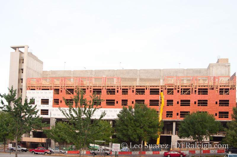 The L Apartments under construction