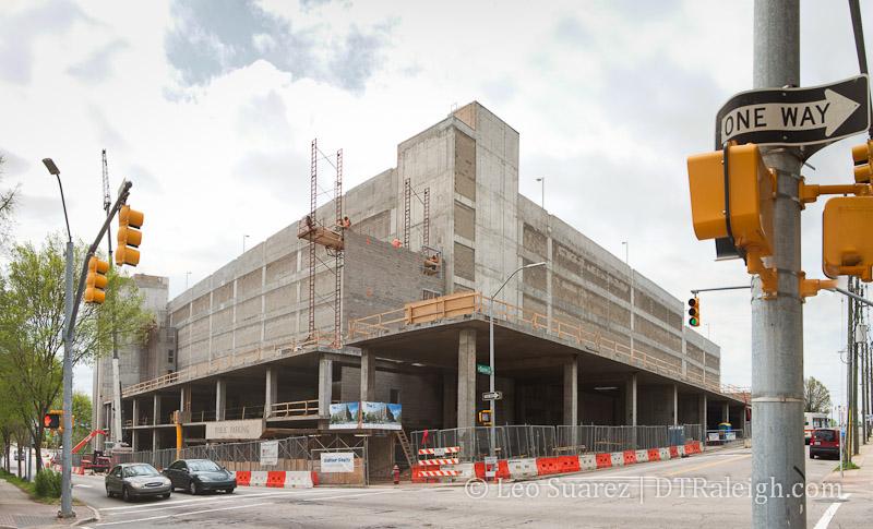 The L under construction