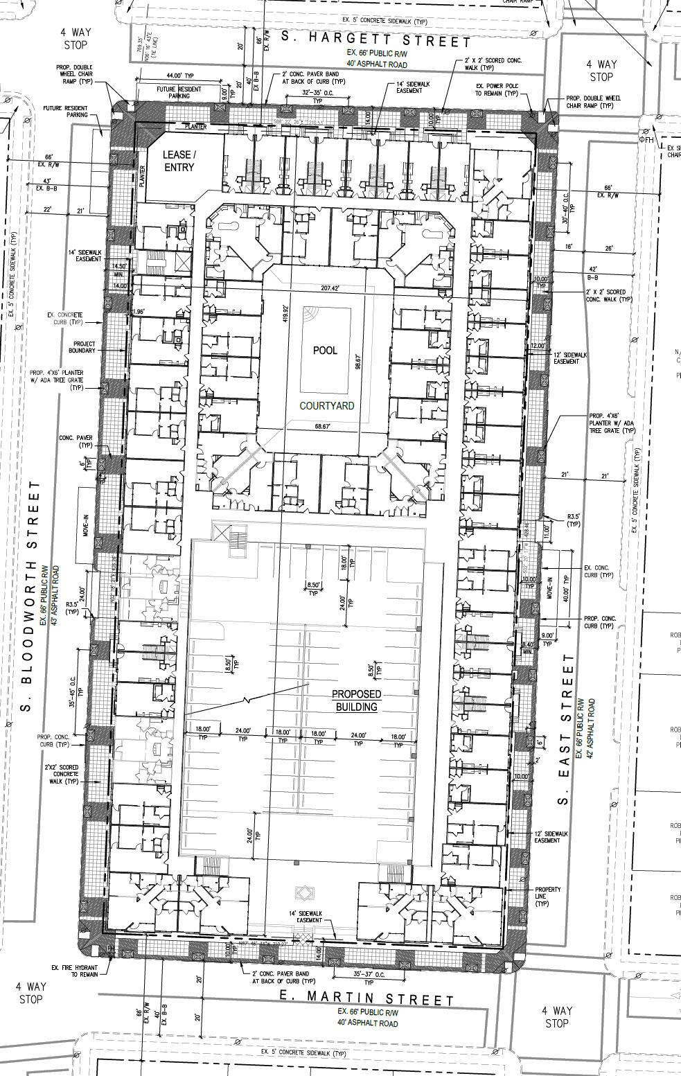 The Lincoln Preliminary Site Plan