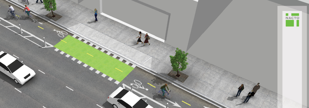 Rendering of a cycle track
