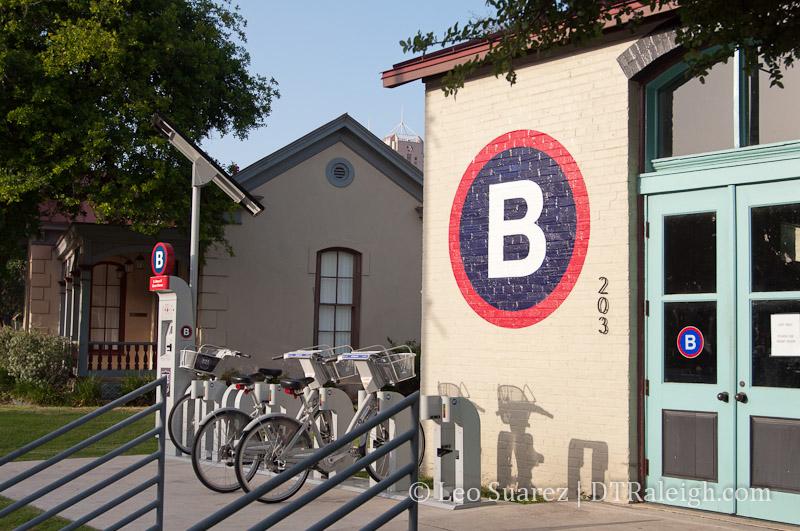 San Antonio B Cycle Hub