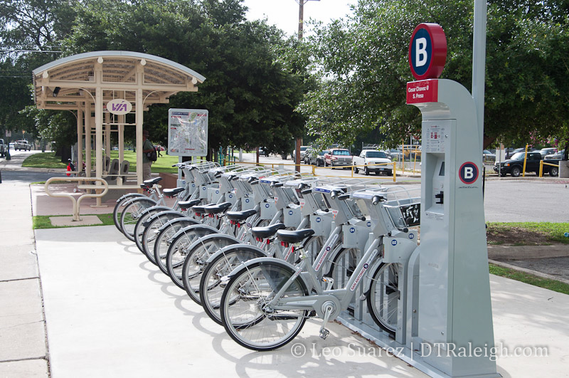 San Antonio B Cycle Station
