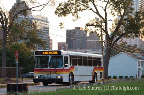 Capital Area Transit bus