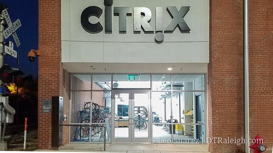 Bike Parking at Citrix