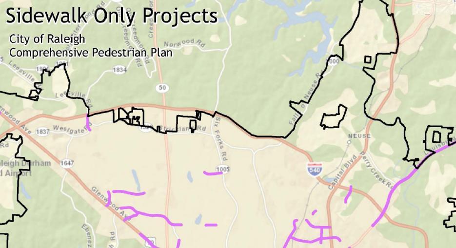 Comprehensive Pedestrian Plan