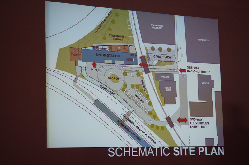 Raleigh Union Station rendering June 2013