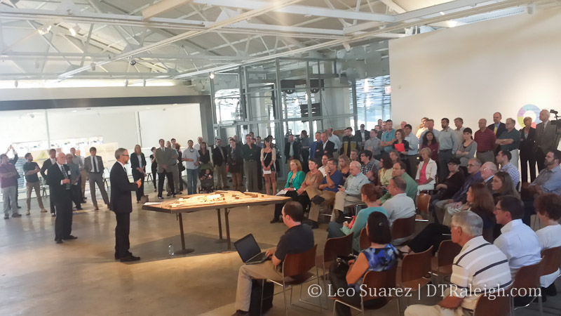 Public Meeting for Raleigh Union Station, September 2014