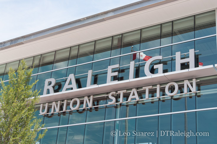 Raleigh Union Station sign