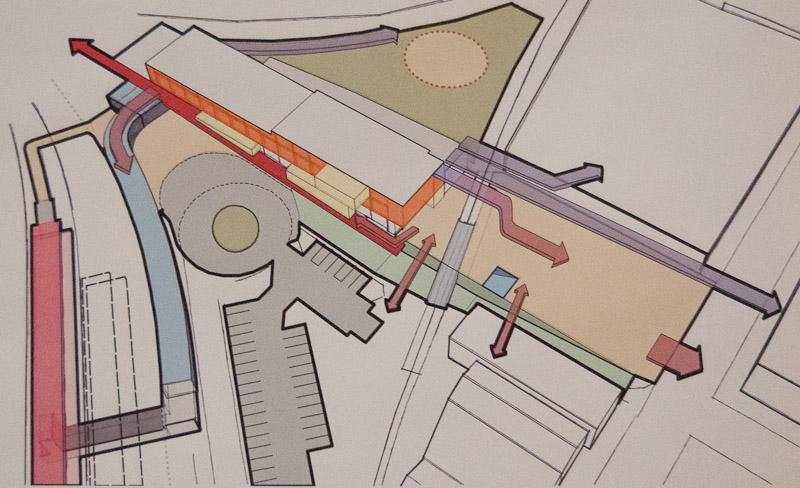 Union Station conceptual sketch