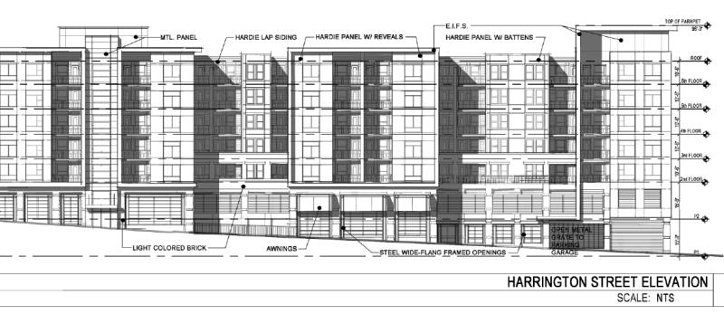 Rendering of the West Apartments II